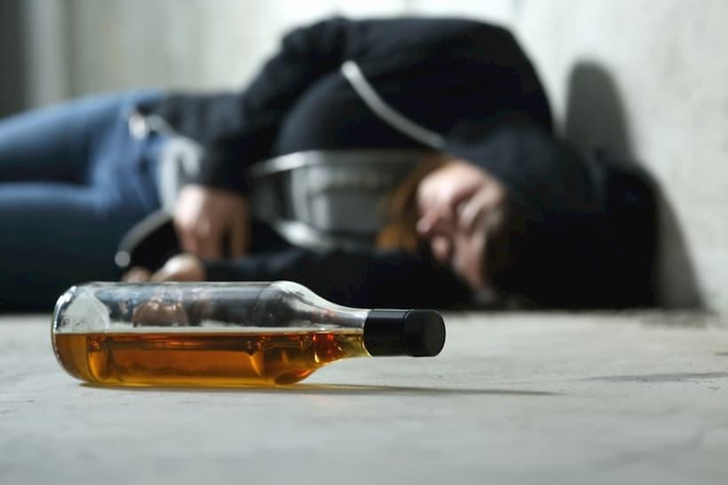 симптоми алкогольного отруєння