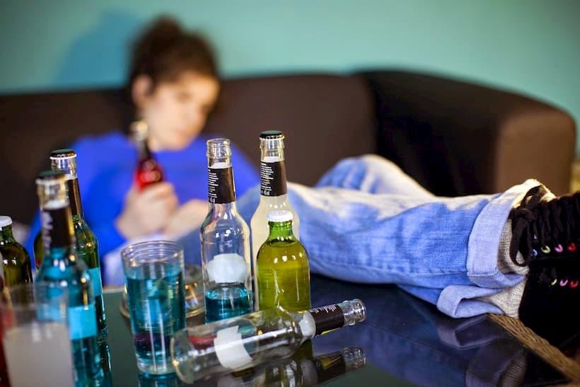 зависимость алкоголь