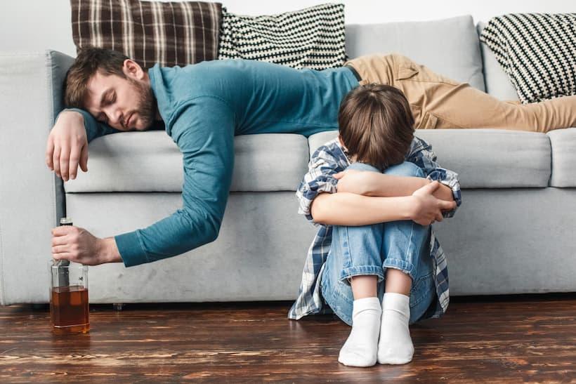 алкоголизм у ребенка