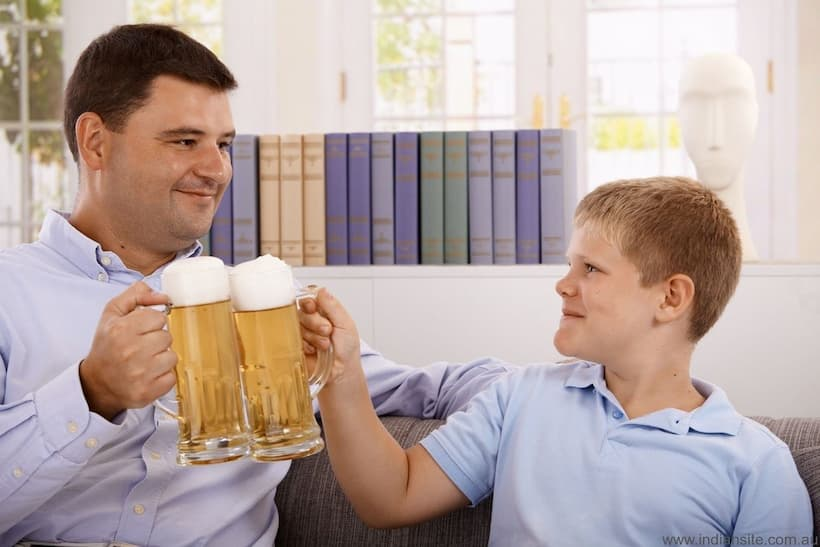 стадії підліткового алкоголізму